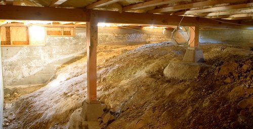 Slab vs crawl space foundation pros cons comparisons for Crawl space excavation cost