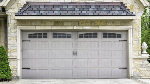 Steel Garage Door. PROS